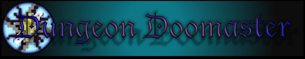 Banderole Dungeon Doomaster